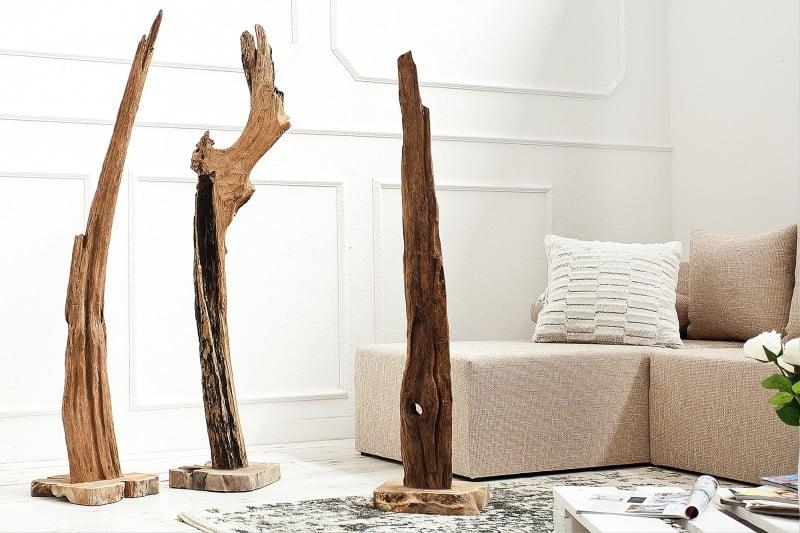 sošky z naplaveného dreva