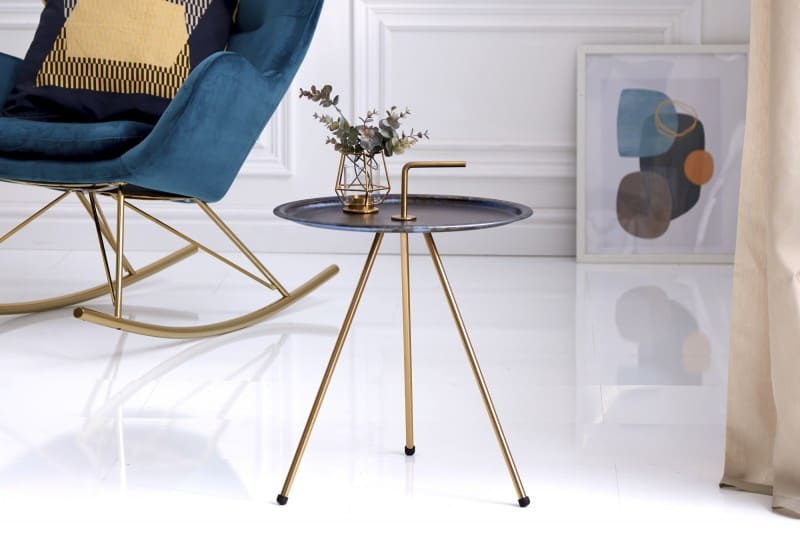 tmavomodro-zlaty-konferencny-stolik