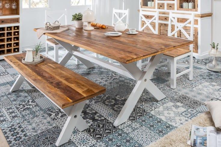 vintage jedálenský stôl