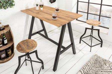 Barová stolička Castle 120cm divý dub