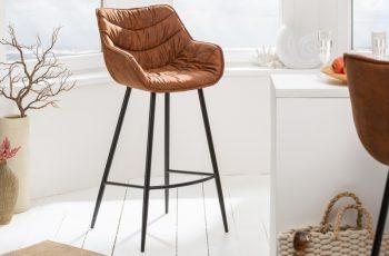 Barová stolička The Dutch Comfort antik hnedá