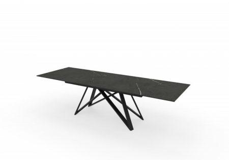 Jedálenský stôl Atlas 180-220-260cm keramika Graphit