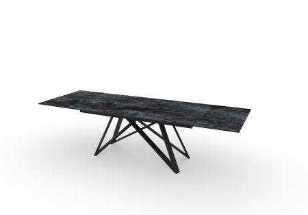 Jedálenský stôl Atlas 180-220-260cm keramika / láva