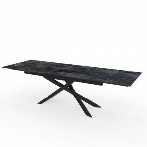 Jedálenský stôl Euphoria 180-220-260cm keramika Lava