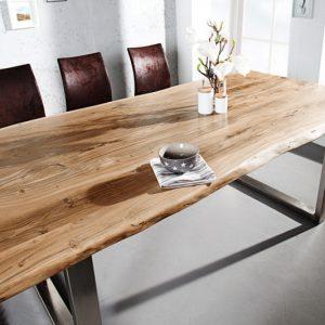 Jedálenský stôl Mammut 200cm agát 35mm HONEY- Platte