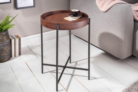 Konferenčný stolík Elements 43cm mocha buk