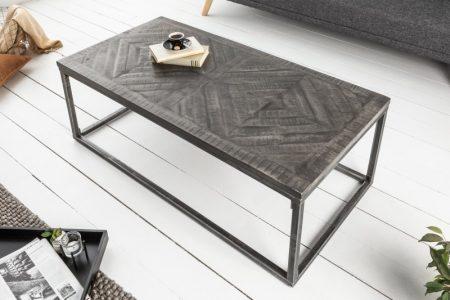 Konferenčný stolík Infinity Home 100cm Mango sivá