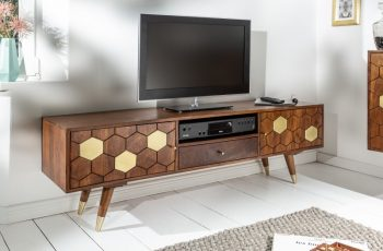 TV Board Mystic Living 140cm agát