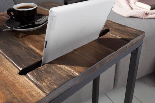 Konferenčný stolík Elements 43cm s držiakom na tablet