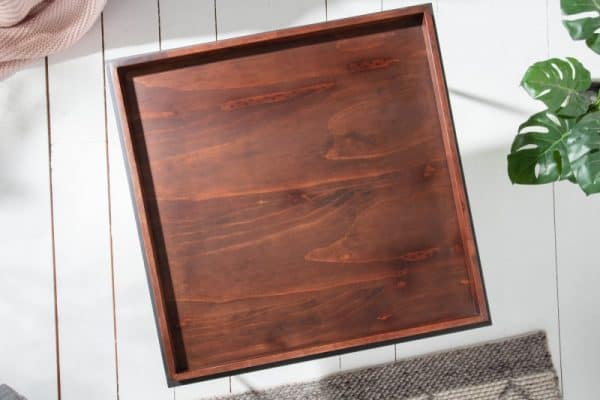 Konferenčný stolík Elements 60cm mocha buk (podnos)