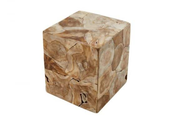 Konferenčný stolík Square 40cm teakové drevo