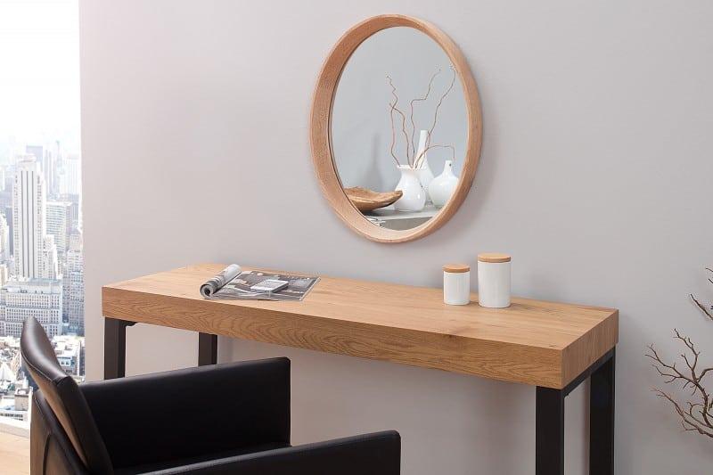 ovalne zrkadlo