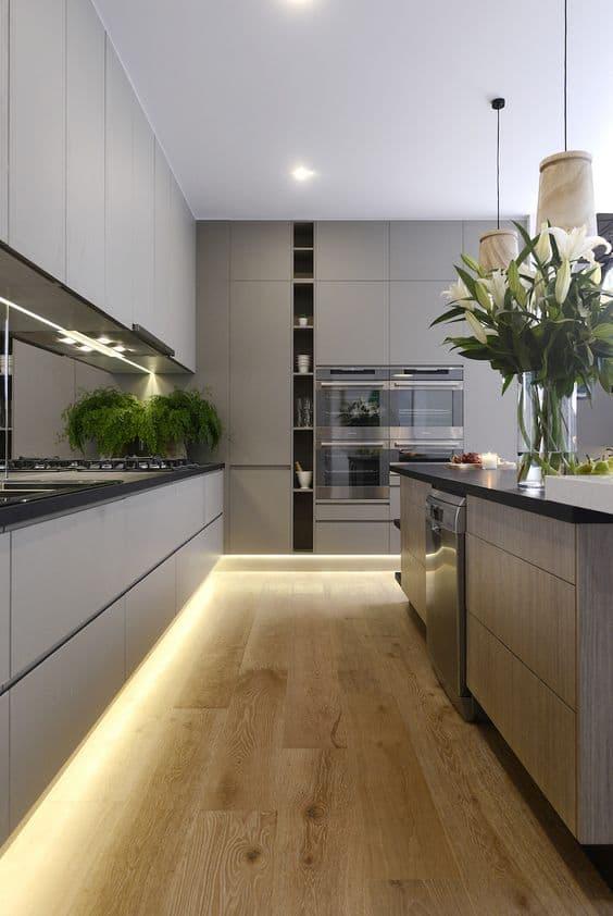 podsvietenie kuchynských skriniek