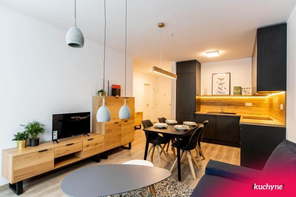 2. kuchyňa s obývačkou