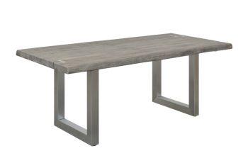 Jedálenský stôl Mammut Artwork 200cm sivá agát