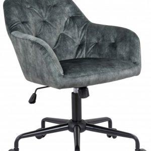 Kancelárska stolička Dutch Comfort zelená zamat