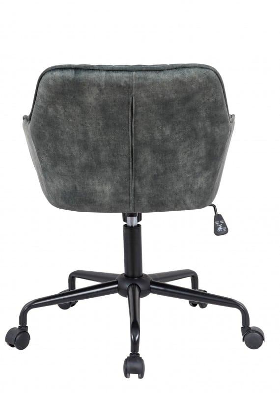 Kancelárska stolička Turin zelená zamat Armlehne