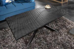 Konferenčný stolík Scorpion 110cm čierna Mango