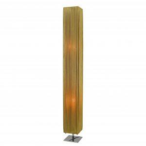 Stojanová lampa Paris 120cm zlatá