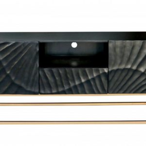 TV-stolík Scorpion 160cm čierna Mango