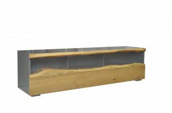 TV-stolík Wild Oak 180cm sivá dub