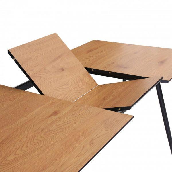 Jedálenský stôl Apartment 120-160cm dub