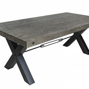 Jedálenský stôl Thor 200cm Pinienholz sivá