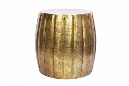 Konferenčný stolík Marrakesch 42cm hliník zlatá