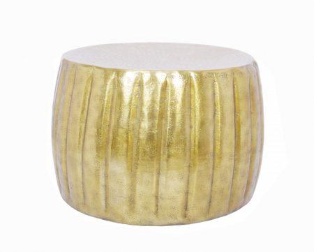 Konferenčný stolík Marrakesch 55cm hliník zlatá
