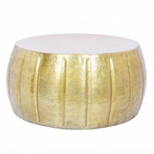 Konferenčný stolík Marrakesch 65cm hliník zlatá