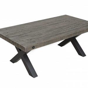 Konferenčný stolík Thor 120cm Pinienholz sivá