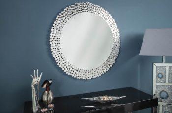 Nástenné zrkadlo Big Diamonds 80cm rund
