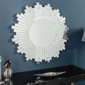 Nástenné zrkadlo Mosaik 90cm rund