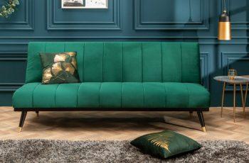 Rozkladacia pohovka Petit Beaute 180cm smaragdzelená
