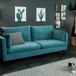 Sofa Famous II 210cm aqua zamat