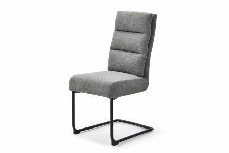 Stolička Comfort vrecovina sivá