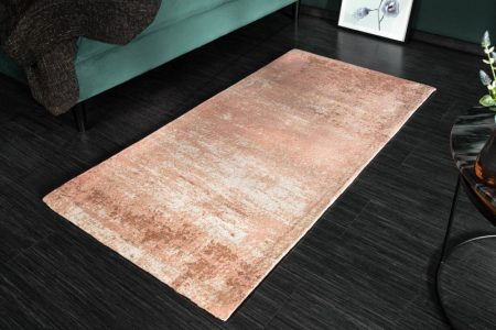 Teppich Modern Art 70x140cm rosa béžová