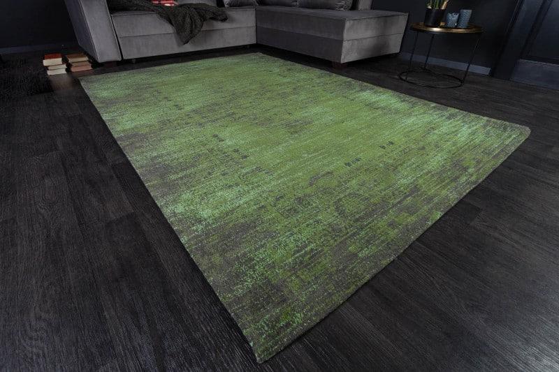 Teppich Pop Art 240x160cm smaragdzelená