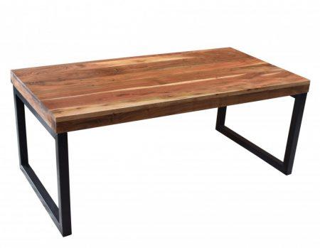 Konferenčný stolík Elements 100cm agát prírodná čierna