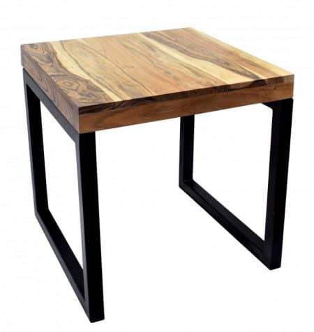 Konferenčný stolík Elements 45cm agát prírodná čierna