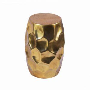 Konferenčný stolík Organic Orient 30cm hliník zlatá