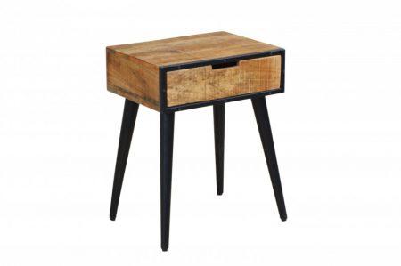 Nachttisch Industrial 45cm Mango