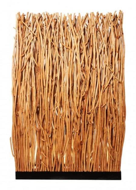 Stojanová lampa Natural Stena 180cm Longan-drevo prírodná