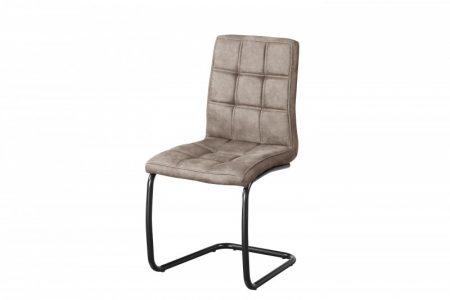 Sivá jedálenská stolička Modena