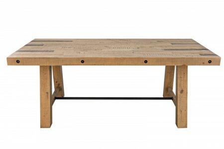 Jedálenský stôl Finca 200cm Pinie 80mm prírodná
