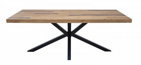 Jedálenský stôl Galaxie 200cm Pinie 60mm prírodná