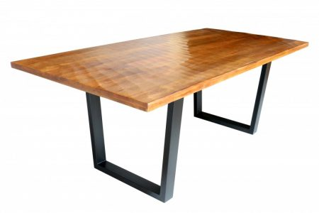 Jedálenský stôl Scorpion 200cm Mango hnedá 40mm