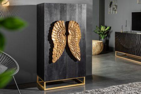 Komoda Angel 70cm Mango čierna