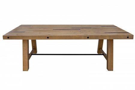 Jedálenský stôl Finca 240cm Pinie 80mm prírodná