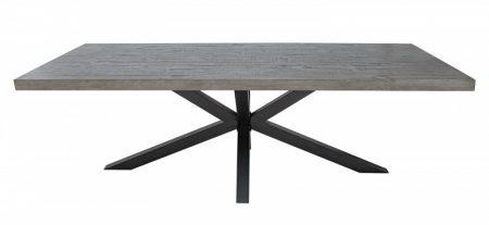 Jedálenský stôl Galaxie 240cm Pinie 60mm sivá